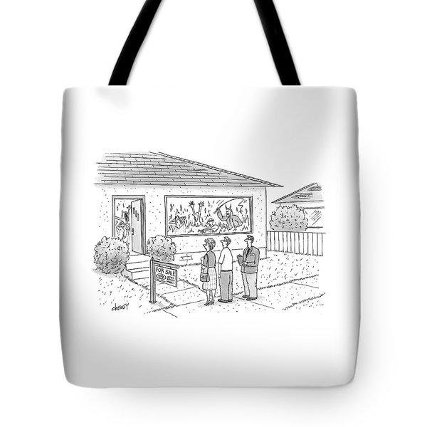 New Yorker September 15th, 2008 Tote Bag