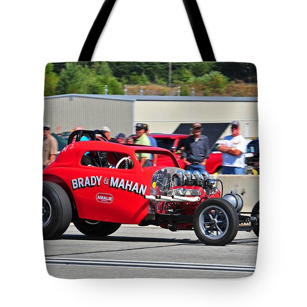 Tote Bag featuring the photograph 330 Nationals by Mike Martin