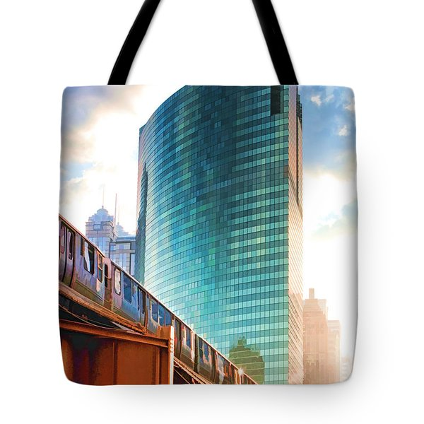 333 W Wacker Drive Tote Bag
