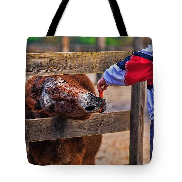 Tote Bag featuring the photograph 3481-200 by Lewis Mann