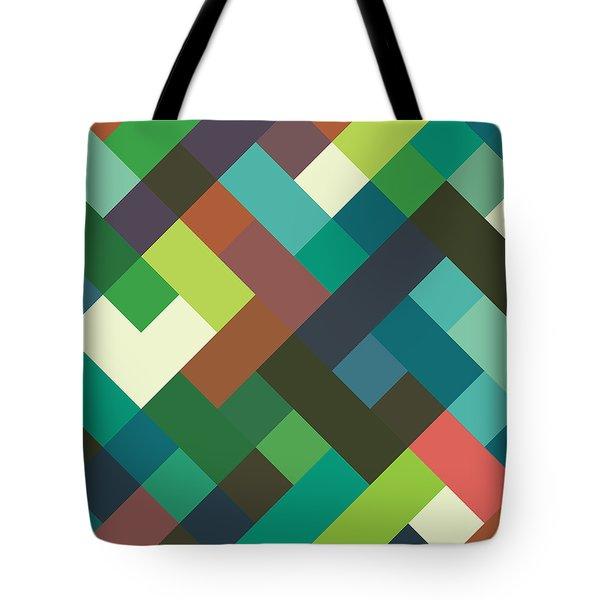 Pixel Art Tote Bag