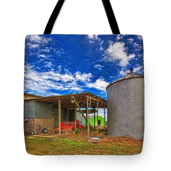 Tote Bag featuring the photograph 3512-8-201 by Lewis Mann