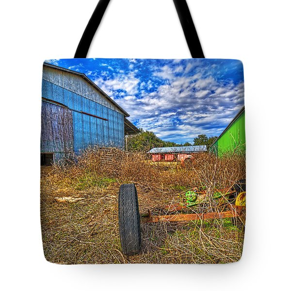 Tote Bag featuring the photograph 3589-95-201 by Lewis Mann