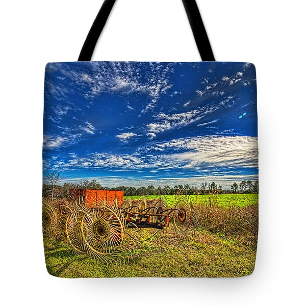 Tote Bag featuring the photograph 3596-602-201 by Lewis Mann