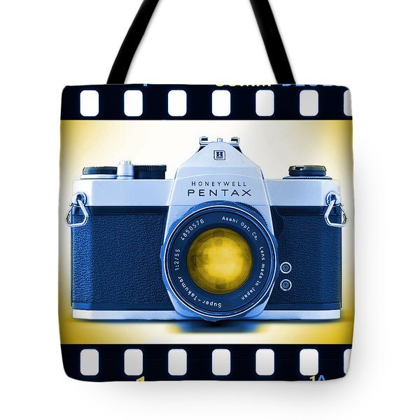 35mm Blues Pentax Spotmatic Tote Bag by Mike McGlothlen