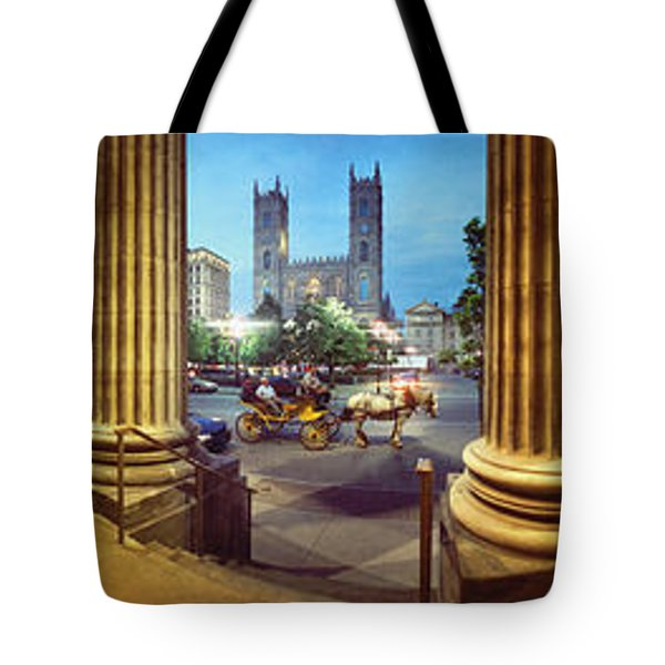 360 Degree View Of The Notre Dame De Tote Bag