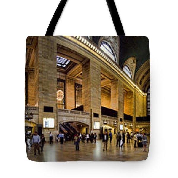 360 Panorama Of Grand Central Terminal Tote Bag by David Smith