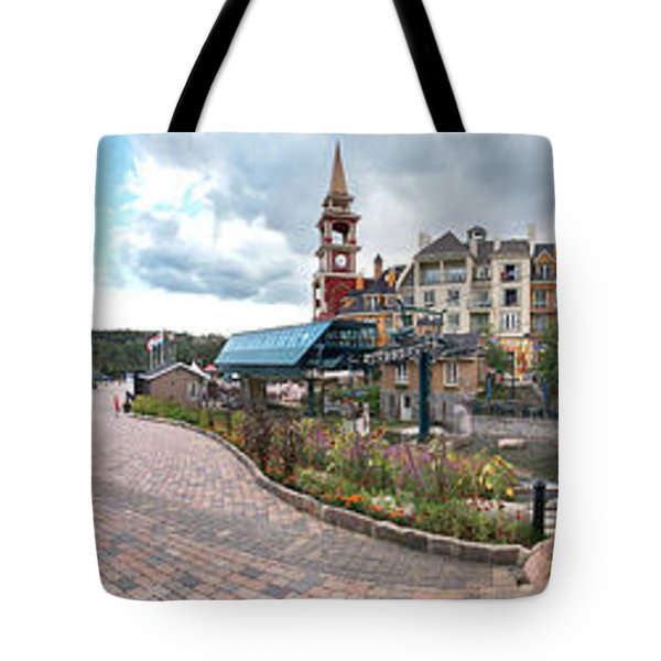 360 View Panorama, Mont-tremblant Tote Bag by Henry Lin