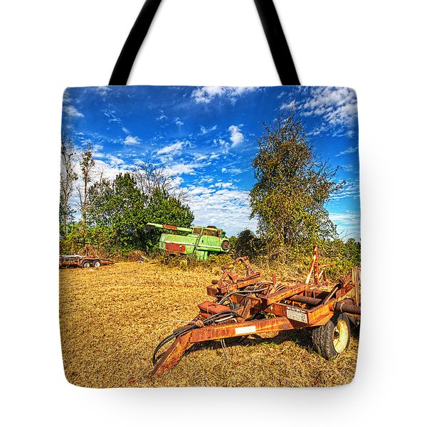 Tote Bag featuring the photograph 3631-7-201 by Lewis Mann
