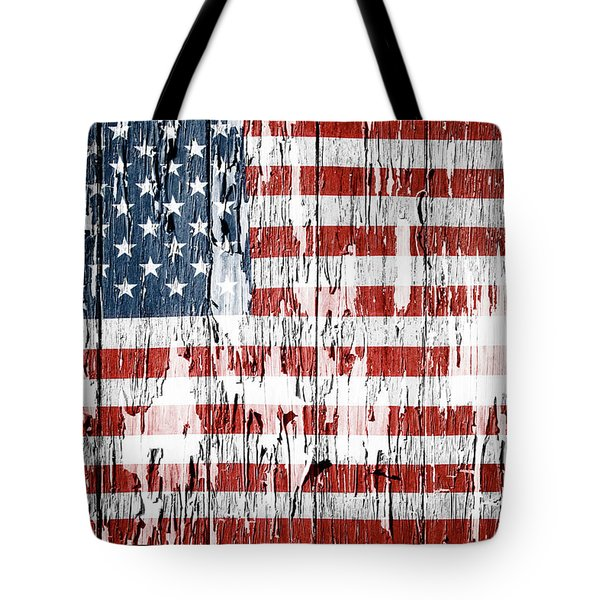 American Flag 49 Tote Bag