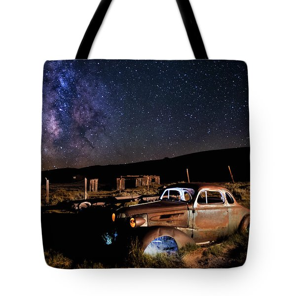 '37 Chevy And Milky Way Tote Bag