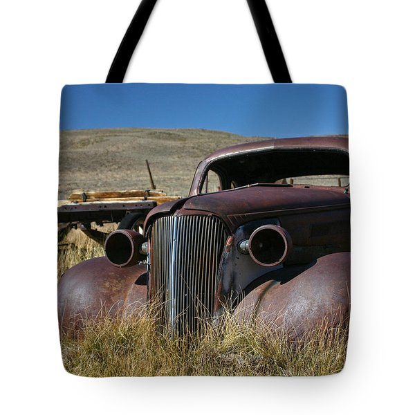 '37 Chevy In Bodie Tote Bag