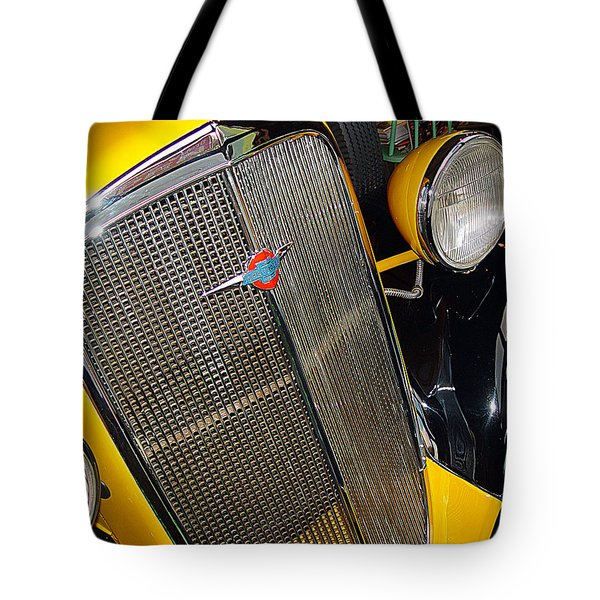 37 Chevy Panel Delivery Tote Bag by John Bushnell