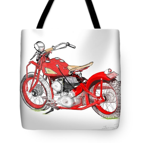 37 Chief Bobber Tote Bag
