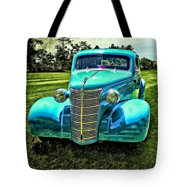 38 Chevy Coupe Tote Bag