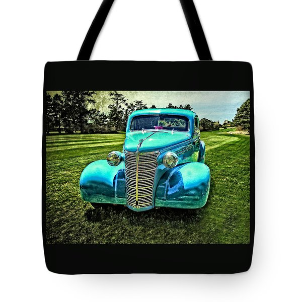 38 Chevrolet Classic Automobile Tote Bag