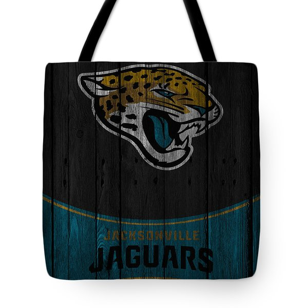Jacksonville Jaguars Tote Bag