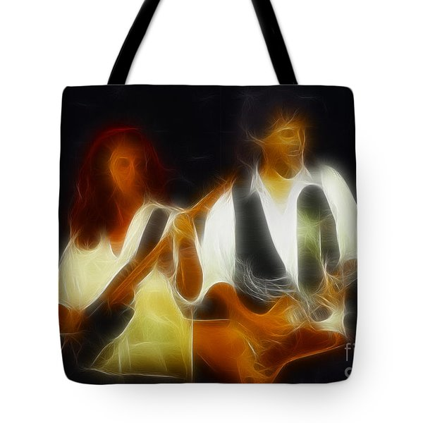 38 Special-94-jeffndanny-gc1a-fractal Tote Bag by Gary Gingrich Galleries
