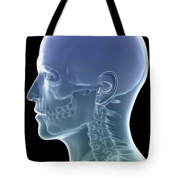 The Skeleton Tote Bag