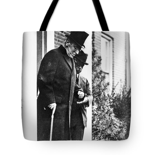 Tote Bag featuring the photograph Woodrow Wilson (1856-1924) by Granger
