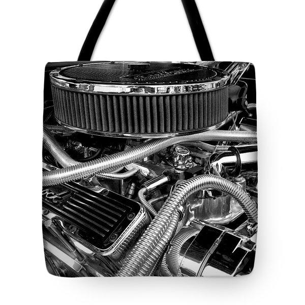 383 Small Block Tote Bag