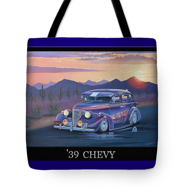 '39 Chevy Tote Bag