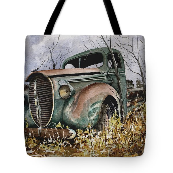 39 Ford Truck Tote Bag