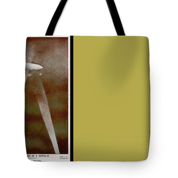 American Beaver Swimming Tote Bag