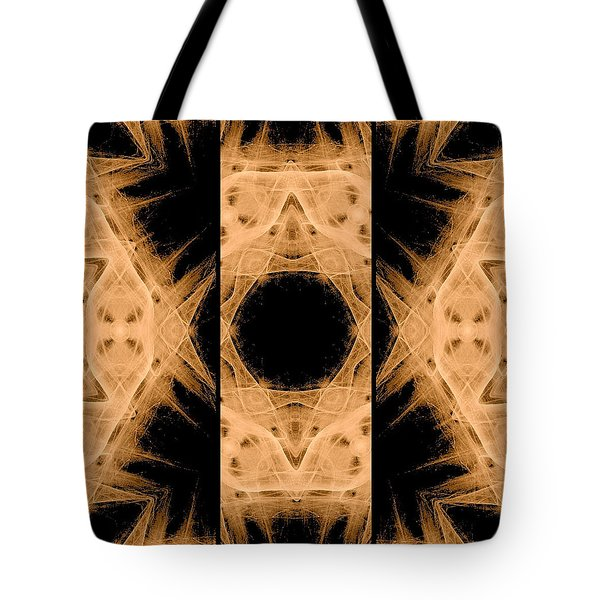 3d Abstract Fractal Tote Bag by Maggie Vlazny