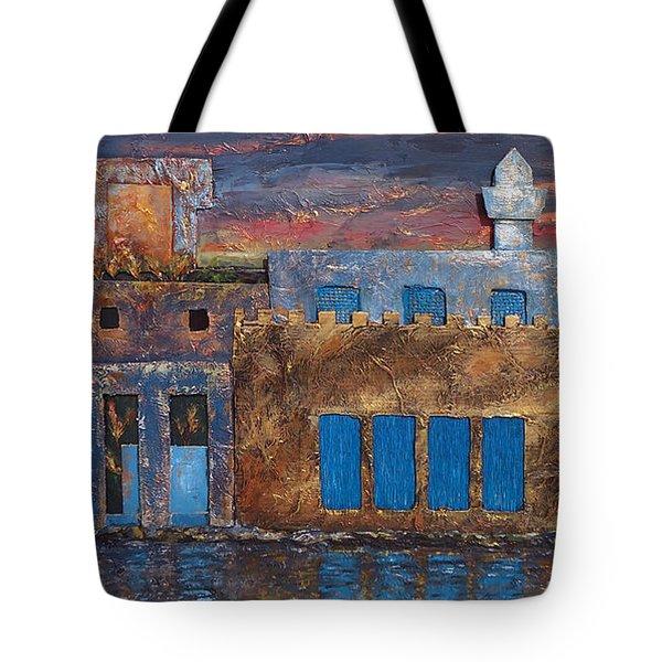 3d Village Tote Bag by Amani Al Hajeri