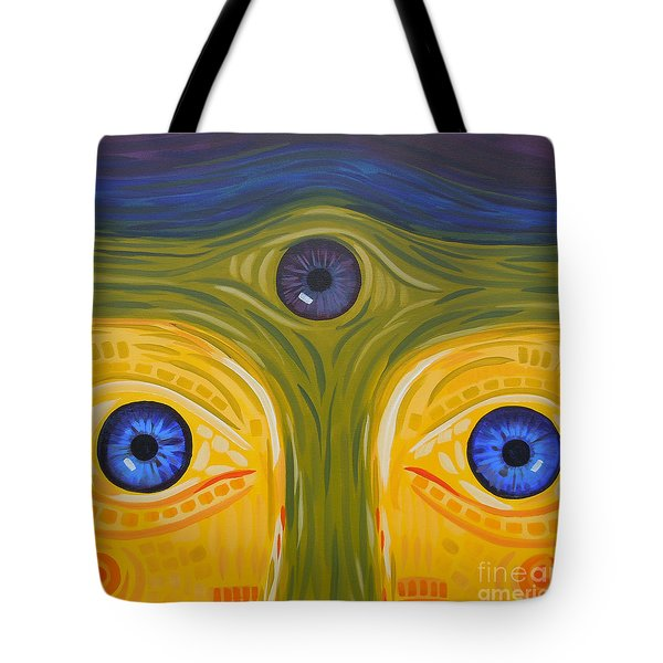 3eyes2c Tote Bag