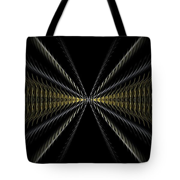 Abstract 100 Tote Bag by J D Owen