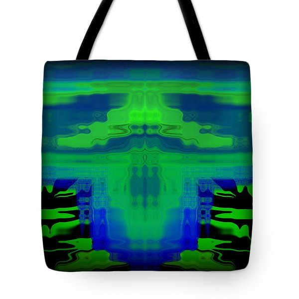 Abstract 101 Tote Bag by J D Owen