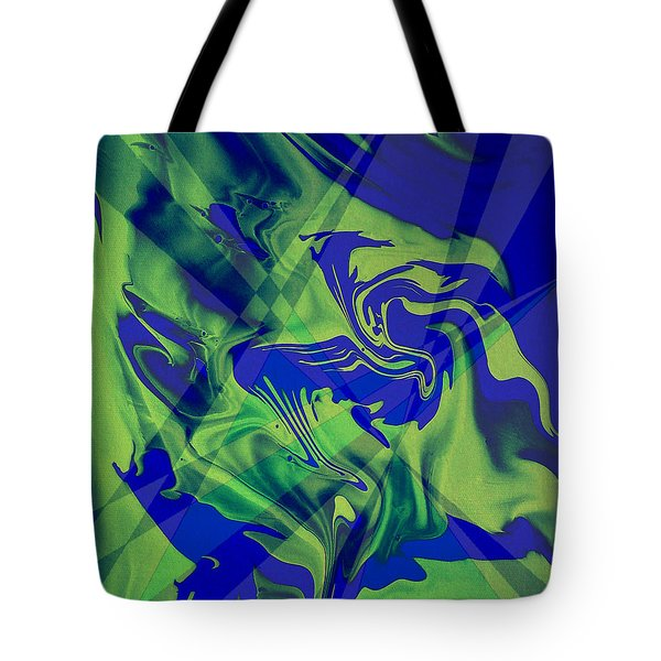 Abstract 32 Tote Bag by J D Owen