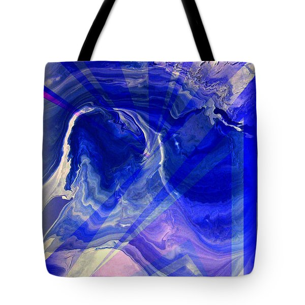 Abstract 36 Tote Bag by J D Owen