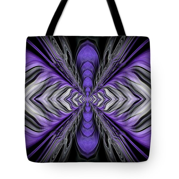 Abstract 73 Tote Bag by J D Owen