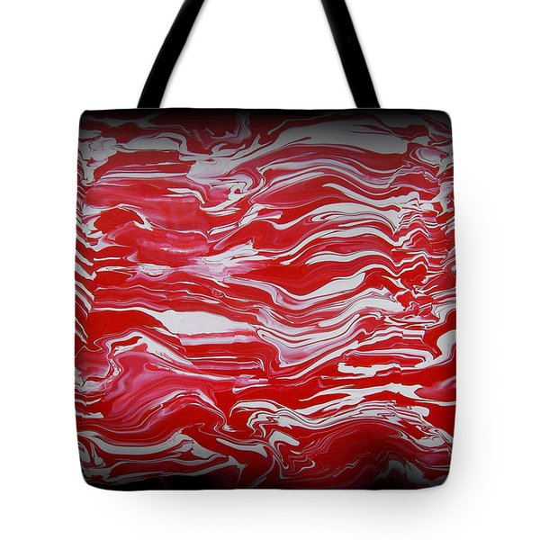 Abstract 85 Tote Bag by J D Owen