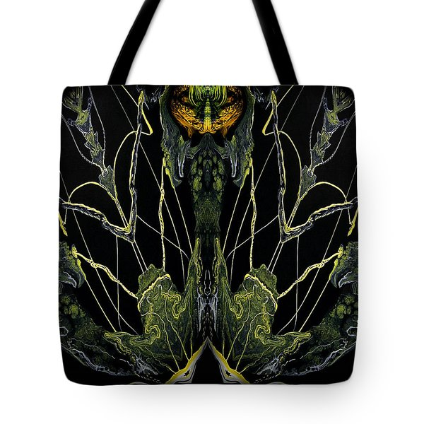 Abstract 92 Tote Bag by J D Owen