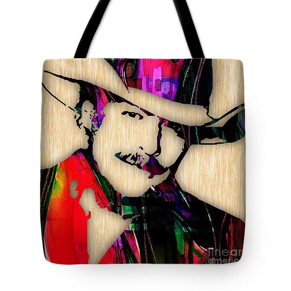 Alan Jackson Collection Tote Bag