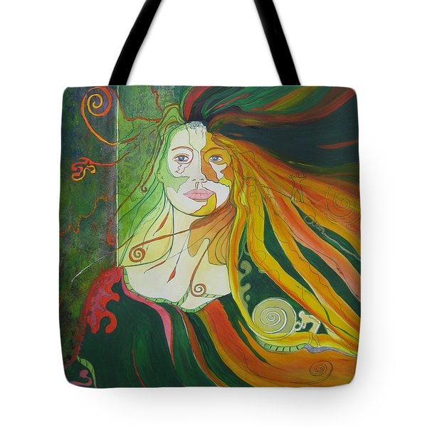 Alter Ego Tote Bag by Diana Bursztein