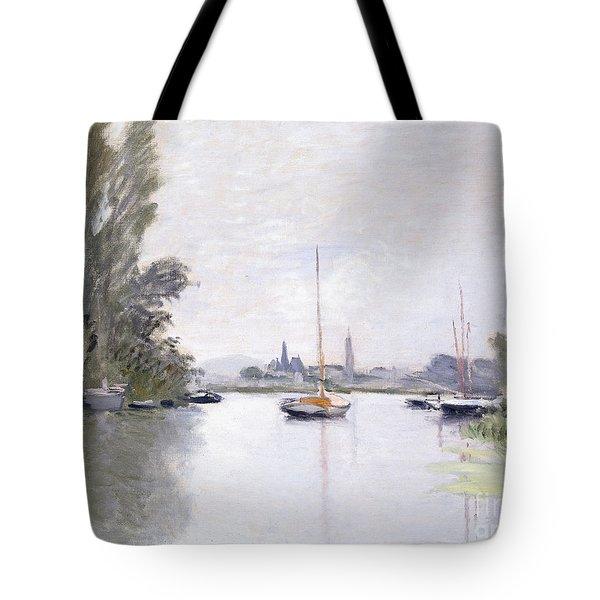 Argenteuil Tote Bag by Claude Monet