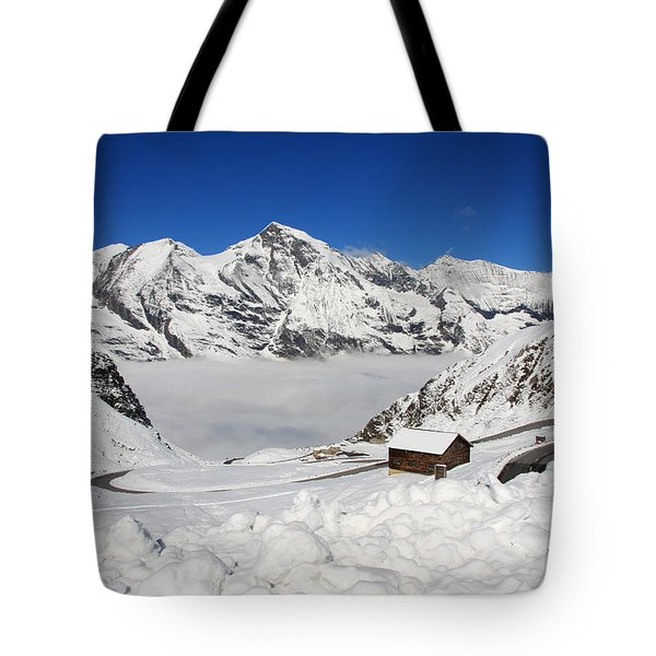 Austrian Mountains Tote Bag