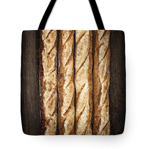 Baguettes Tote Bag by Elena Elisseeva