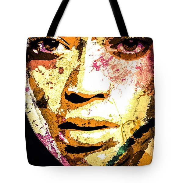 Beyonce Tote Bag by Svelby Art