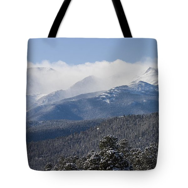 Blizzard Peak Tote Bag