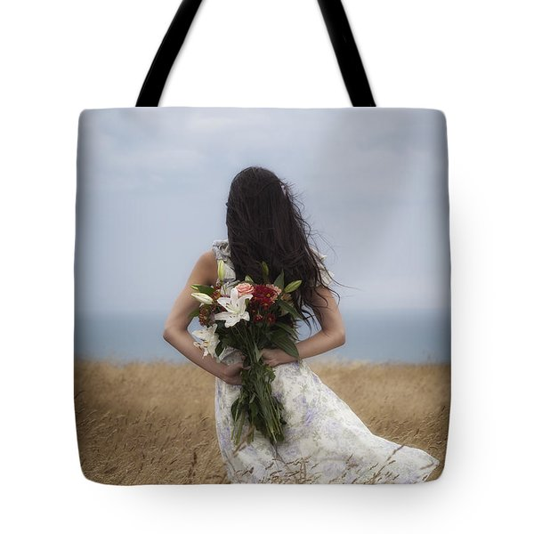 Bouquet Of Flowers Tote Bag by Joana Kruse