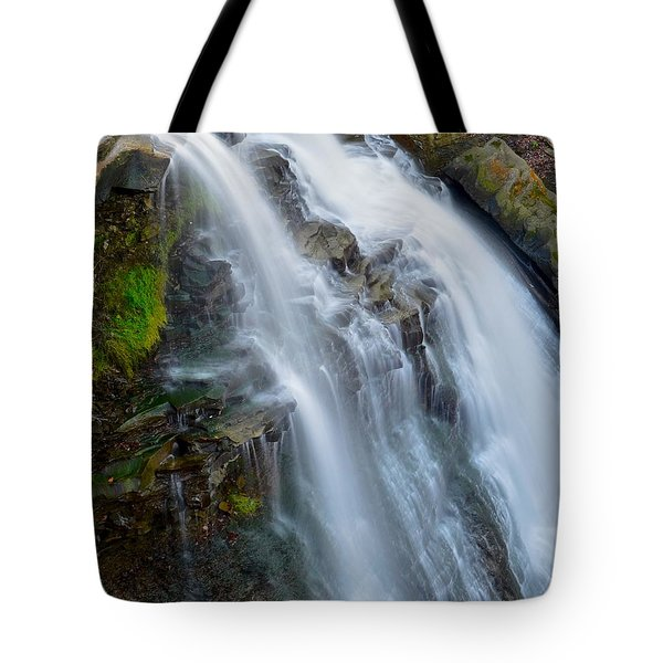 Brandywine Falls Tote Bag by Frozen in Time Fine Art Photography