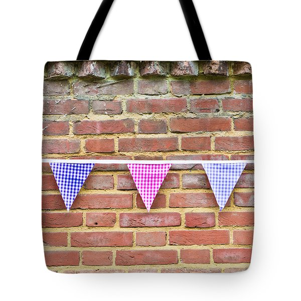 Bunting Tote Bag by Tom Gowanlock