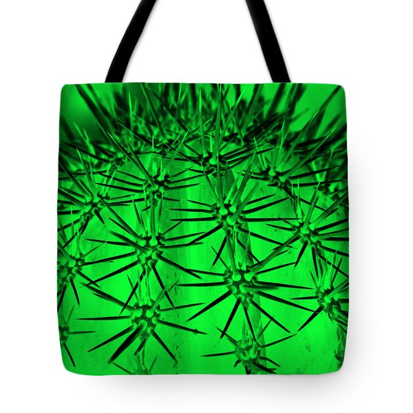 Cactus Abstraction  Tote Bag
