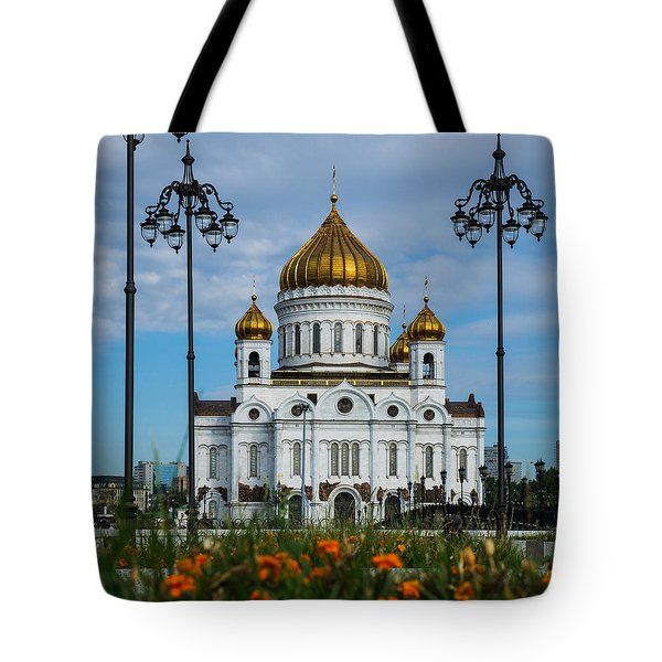 Cathedral Of Christ The Savior Of Moscow - Russia - Featured 3 Tote Bag